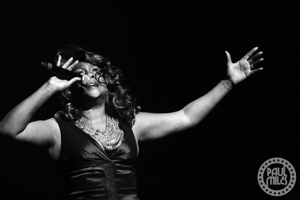 APOLLO SUPREME: Mary Wilson – a founding member of the world's most famous female trio The Supremes at the Apollo Theatre in Harlem.