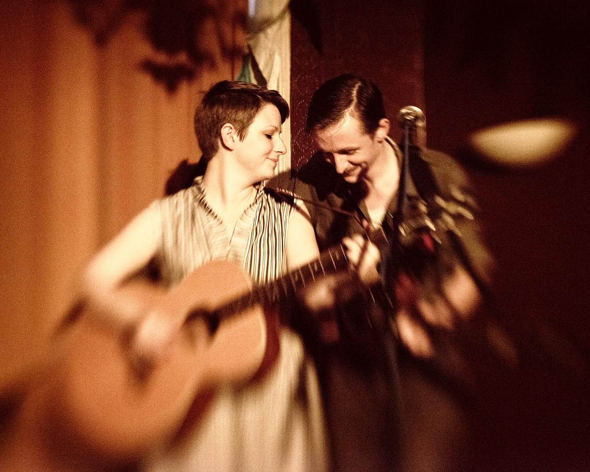 Trevor Moss & Hannah-Lou Album Launch