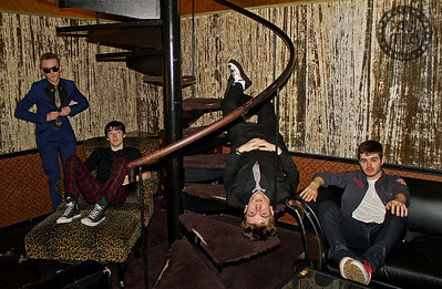 BACKSTAGE IN TOKYO: Irish rockers The Strypes backstage in Tokyo after a sold-out Japanese performance in 2015.