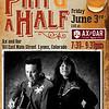 Pint & a Half Poster Taos Inn