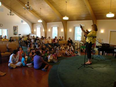 Preschool Cathy Bollinger Concert 2012-04