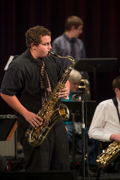 Jake Childers, Prescott High School Jazz Ensemble