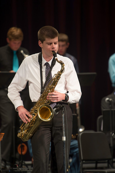 Grant Bonczek, Prescott High School Jazz Ensemble