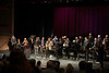 The Prescott Jazz Summit All-Star Big Band and Prescott High School students at the Saturday night concert in the Prescott High School Auditorium.