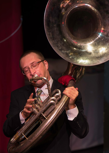 Benjie Messer, Bad Cactus Brass Band