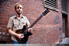 Minus the Bear guitarist and effects master mind, David Knudson, Back Bay Boston, MA