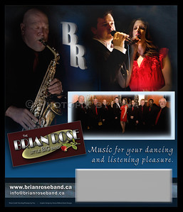 Brian Rose Little Big Band ... Graphics by Denise Wilkins/Photos by Tina King/Photopix by Tina March 14, 2010