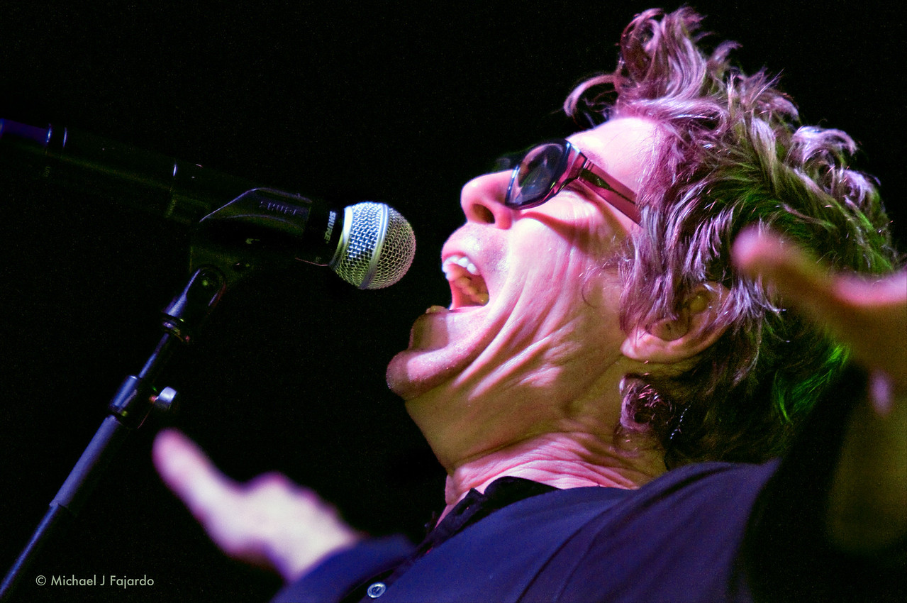 Richard Butler <br /> The Psychedelic Furs<br /> Summit Music Hall<br /> Denver, CO  September 21, 2011