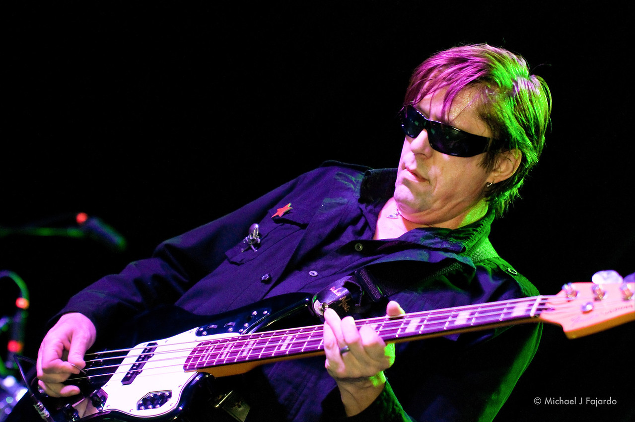Tim Butler<br /> The Psychedelic Furs<br /> Summit Music Hall<br /> Denver, CO  September 21, 2011