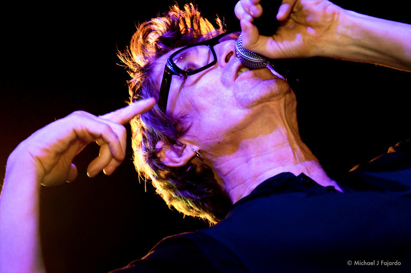 Richard Butler The Psychedelic Furs Summit Music Hall Denver, CO  September 21, 2011