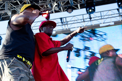 Flavor Flav and Chuch D, Public Enemy, 10/13/2012, Treasure Island Music Festival, San Francisco