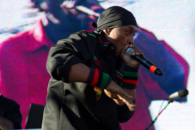 Professor Griff, Public Enemy, 10/13/2012, Treasure Island Music Festival, San Francisco