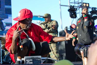 Flavor Flav, Public Enemy, 10/13/2012, Treasure Island Music Festival, San Francisco