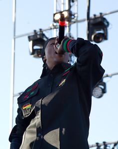 Professor Griff, Public Enemy, 10/13/2012, Treasure Island Music Festival, San Francisco