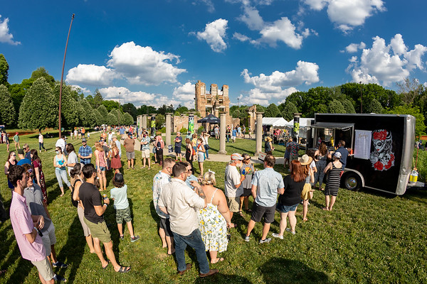 The Vogue Theatre host Rock the Ruins with the Punch Brothers in Holliday Park, Indianapolis, Indiana.  Photo by Tony Vasquez June 5, 2021.