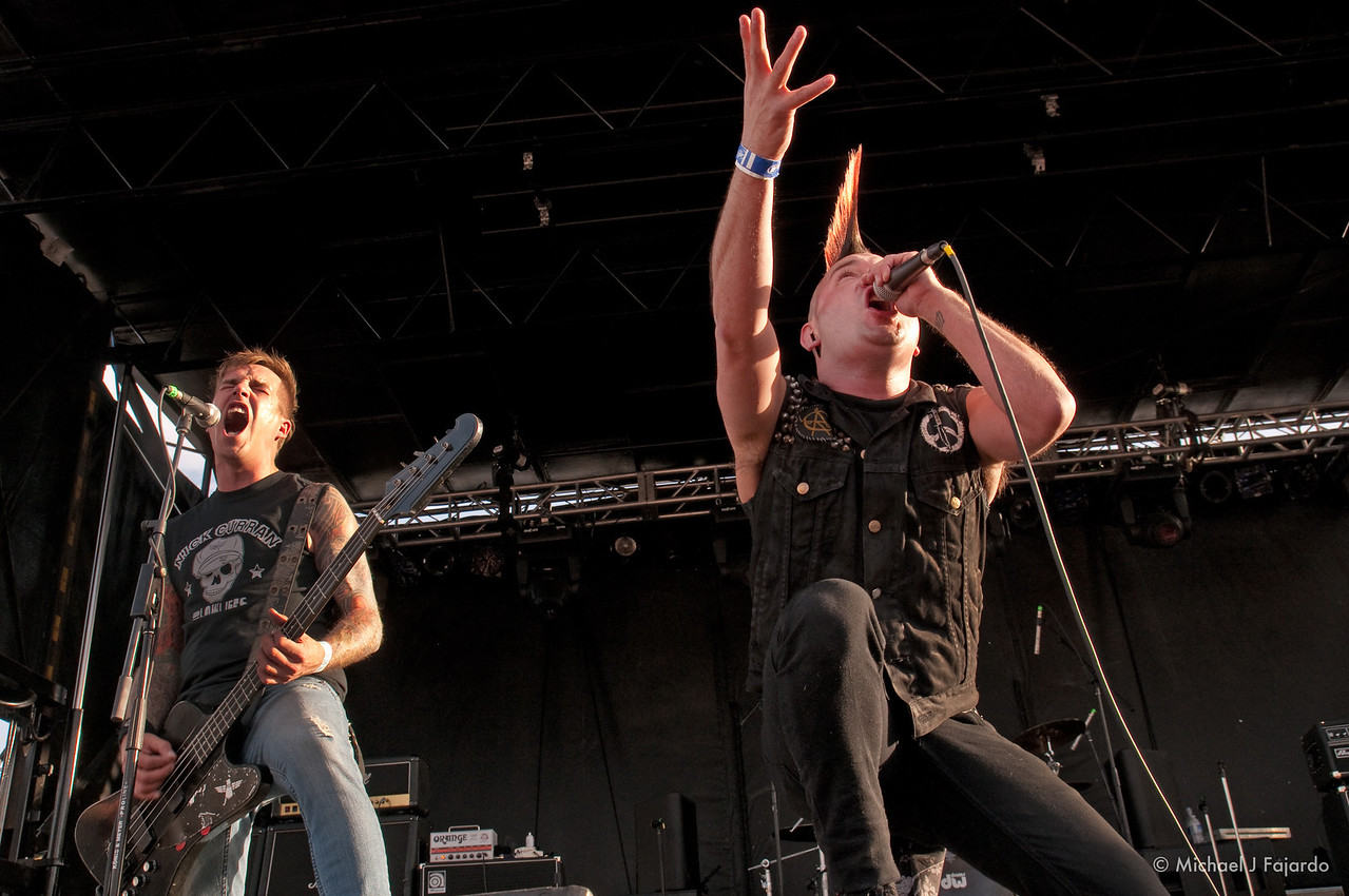 Dave Tejas and Ry Meyer<br /> Krum Bums<br /> BYO Records' 13th Annual Punk Rock Bowling Music Festival<br /> Las Vegas, NV  May 29, 2011