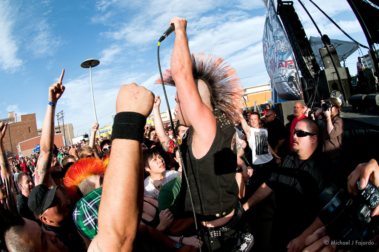 David Tejas and the Crowd<br /> Krum Bums<br /> BYO Records' 13th Annual Punk Rock Bowling Music Festival<br /> Las Vegas, NV  May 29, 2011