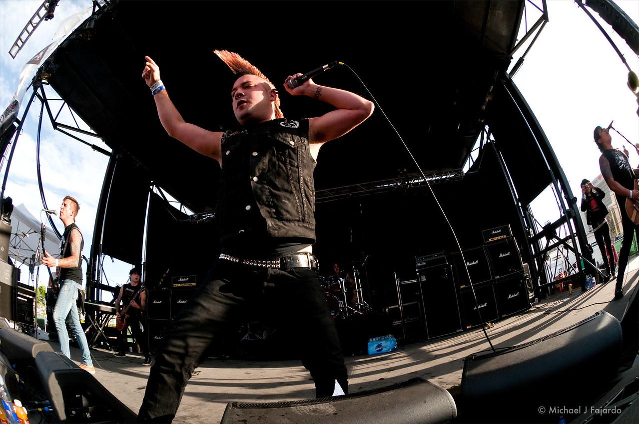 Krum Bums<br /> BYO Records' 13th Annual Punk Rock Bowling Music Festival<br /> Las Vegas, NV  May 29, 2011