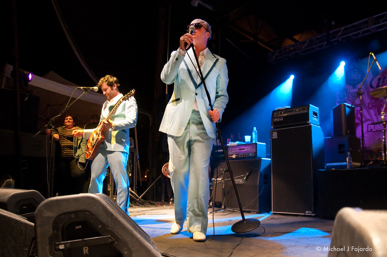 Spike Slawson & Joey Cape<br /> Me First and the Gimme Gimmes<br /> BYO Records' 13th Annual Punk Rock Bowling Music Festival<br /> Las Vegas, NV  May 29, 2011