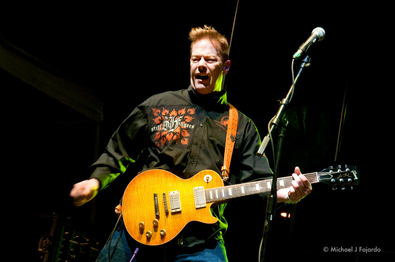 Ian McCallum<br /> Stiff Little Fingers<br /> BYO Records' 13th Annual Punk Rock Bowling Music Festival<br /> Las Vegas, NV  May 29, 2011