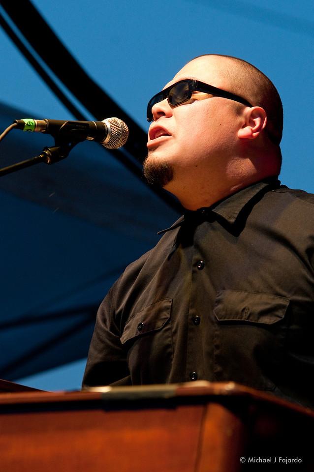 Roger Rivas The Aggrolites BYO Records' 13th Annual Punk Rock Bowling Music Festival Las Vegas, NV  May 29, 2011