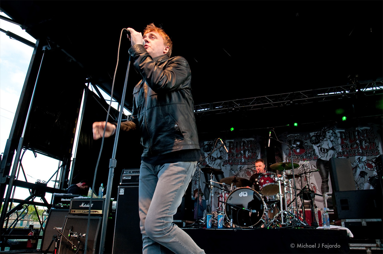 Paul McLoone and Billy Doherty <br /> The Undertones<br /> BYO Records' 13th Annual Punk Rock Bowling Music Festival<br /> Las Vegas, NV  May 29, 2011
