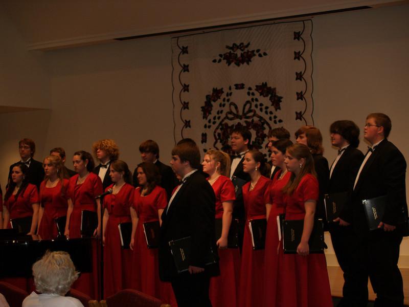 Varsity Singers at SMH