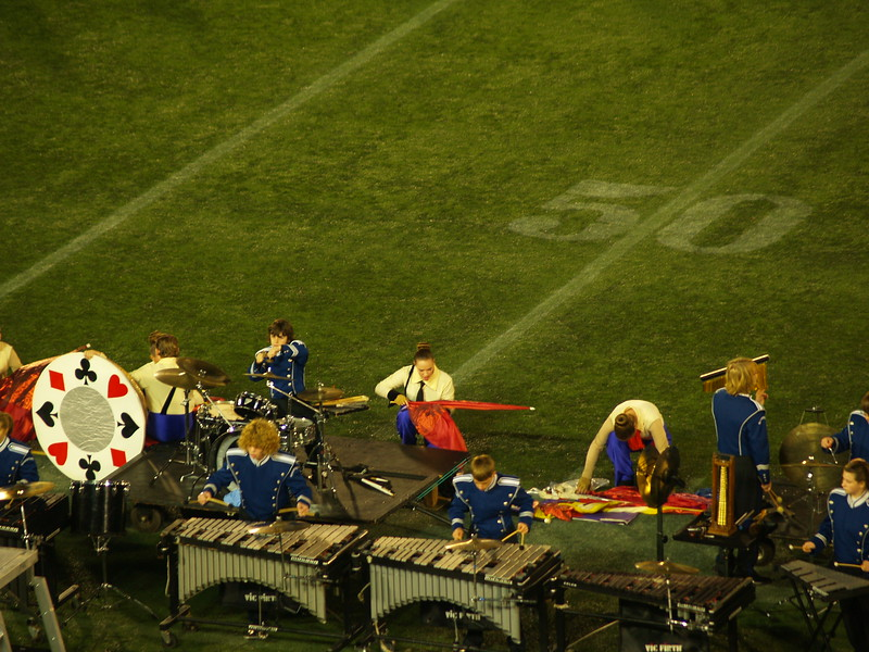 QCHS Panther Marching Band at USSBA National Championships; Annapolis, MD