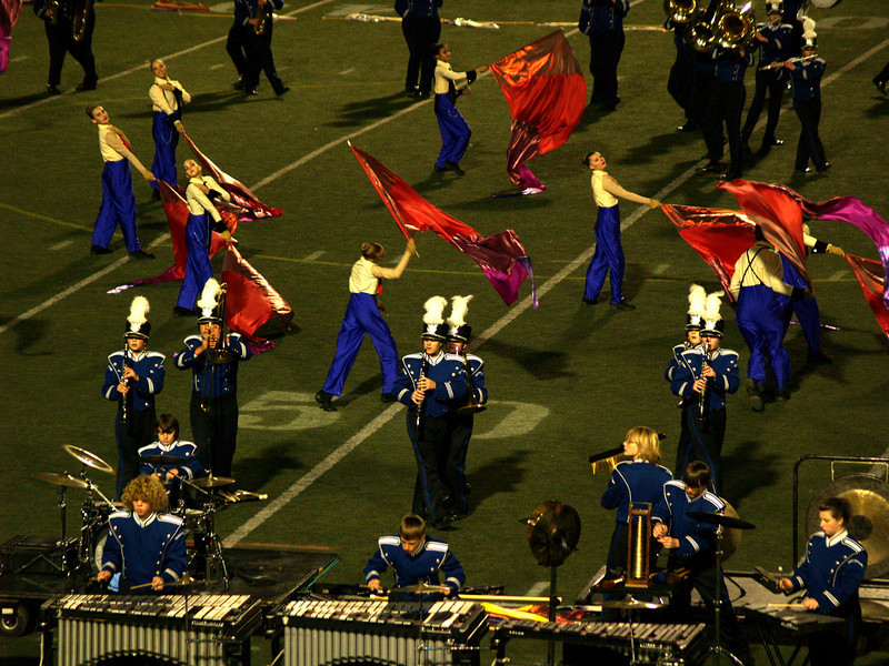 QCHS Panther Marching Band at USSBA Championships, J. Birney Crum Stadium, Allentown