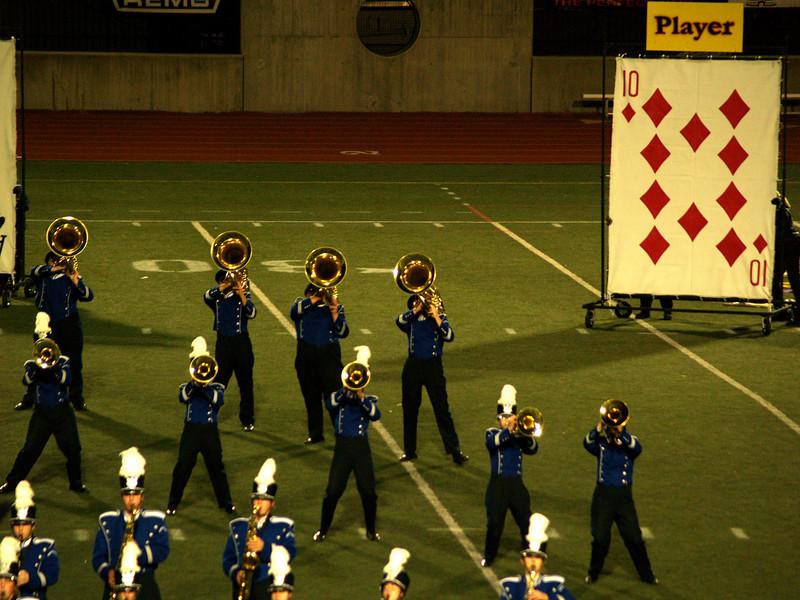 QCHS Panther Marching Band at USSBA Championships, J. Birney Crum Stadium, Allentown