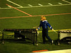 Seth pulling mallets - QCHS Panther Marching Band at USSBA Championships, J. Birney Crum Stadium, Allentown