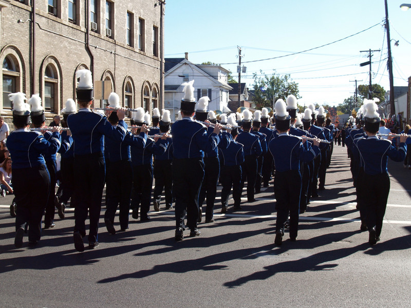 Flutes of QCSHS Marching Band, Halloween Parade