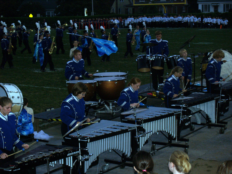 Mallet Section, QCSHS Marching Band