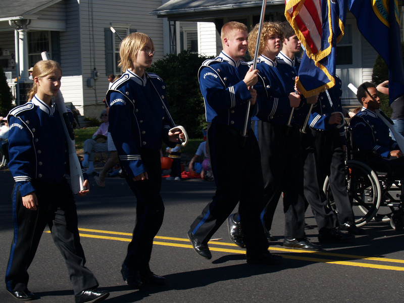 Mallet Section Carrying Flags