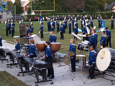 Seth's QCHS Marching Band  (Photo by Rob)