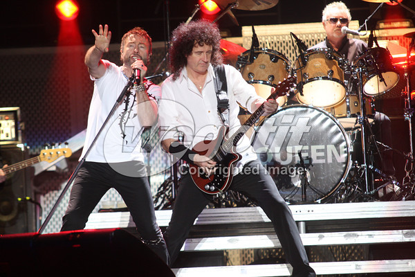 Queen & Paul Rodgers 2008-10-28 Budapest, Sportsarena © Thomas Zeidler