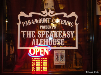 music at The Speakeasy Alehouse