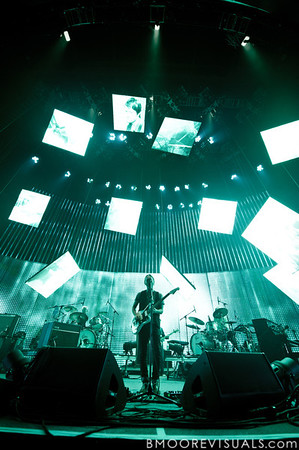 Thom York of Radiohead performs on February 29, 2012 at Tampa Bay Times Forum in Tampa, Florida