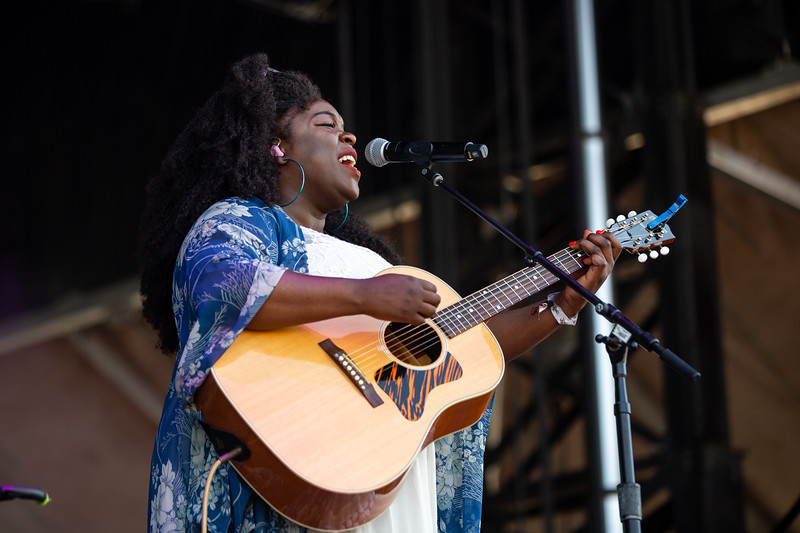 Yola on the Limestone Stage at the Railbird Festival in Lexington, KY. Photo by Tony Vasquez.