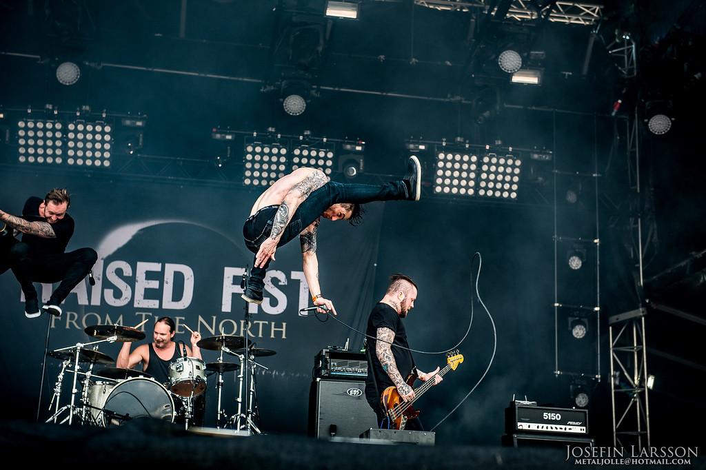 Raised Fist - Sweden Rock 2016