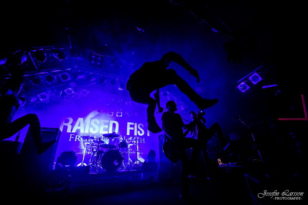 Raised Fist at Kulturbolaget - 291115