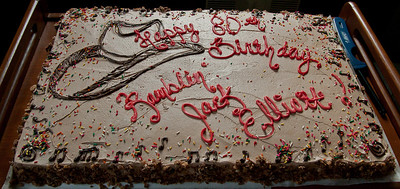 Ramblin Jack's 80th birthday cake.