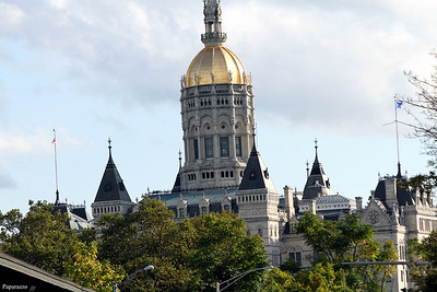 Here's the state capitol of Connecticut, which is within viewing distance of the Ryan Beatty concert on September 30, 2012.