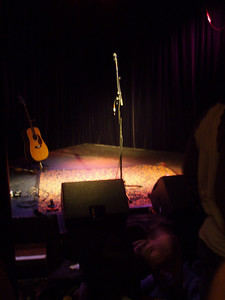 Waiting for Raul - we're all of 15ft from the mike.
