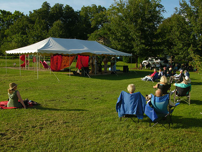 The weather was perfect for a concert in the park last Sunday, Sept. 8.