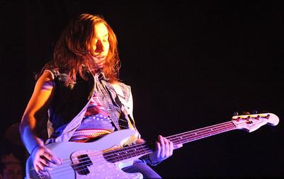 Joe Williams, bass player for Reachback.
