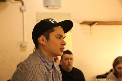 Craig Chin, drummer of Reachback.