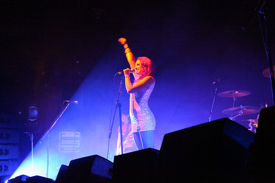Ruby Williams, lead singer of Reachback.