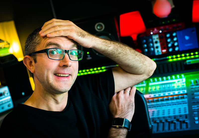 "Mix Engineer Adrian Bushby in his recording studio, London<br /> <br /> Watch our video interview with Adrian: <a href=""http://www.recordproduction.com/record-producer-features/adrian-bushby-mix.htm"">http://www.recordproduction.com/record-producer-features/adrian-bushby-mix.htm</a>"