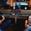 Russ Cottier with Mike Exeter at Monnow Valley Studios